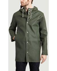 Stutterheim Stockholm Rain Coat Dark - Green