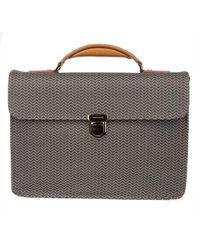 Zanellato Men's 360935802 Brown Leather Briefcase