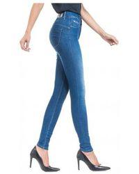 Salsa Skinny Fit Jeans Push - Blue