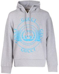 Gucci - Disk Print Oversize Sweatshirt - Lyst