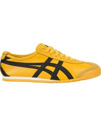 Onitsuka Tiger Mexico 66 Yellow Black Dl408 0490