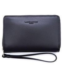 Lancaster Leather Wallet - Black