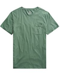 RRL by RALPH LAUREN S/s T-shirt Picket - Green