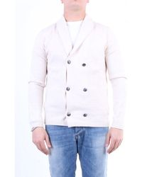 Jeordie's Jackets Double-breasted Cream - White