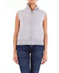 GIO' BELLUCCI Jackets Vest - Grey