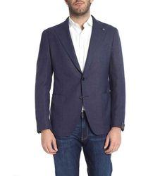Tagliatore - Men's 06ueg262i3234 Blue Wool Blazer - Lyst
