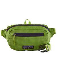 Patagonia Belt Bag Ultralight Black Holeâ® Mini Hip Pack 1l - Peppergrass Green
