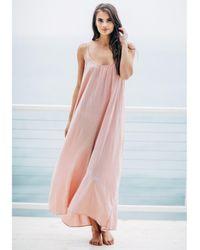 9seed Tulum Dress Dusty Rose - Pink