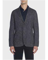 Circolo 1901 Cn2069 Tweed Jacket - Blue