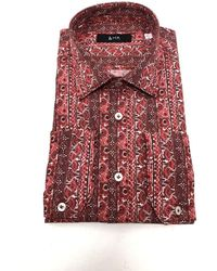 Mr. Palma Shirt In Pomegranate - Red