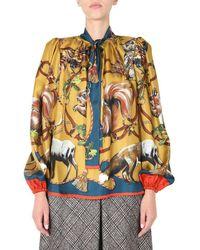 Dolce & Gabbana Silk Shirt - Multicolor
