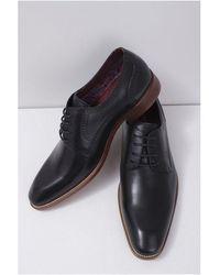 Paolo Vandini Fletcher Leather Shoe Colour: - Black
