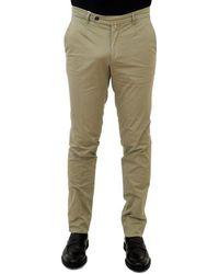 Briglia 1949 Bridle Pants Cotton Beige - Natural