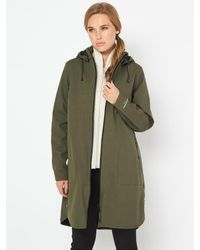 Ilse Jacobsen Rain 128 Raincoat Army Khaki 410 - Green