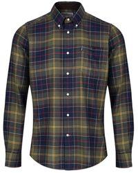 Barbour Tartan 4 Tailored Shirt - Classic Tartan - Blue