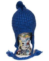 Nixon Backatcha Beanie - Royal - Blue
