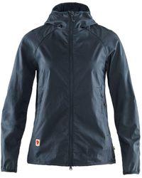 Fjallraven Fjallraven Womens High Coast Shade Jacket Navy - Blue
