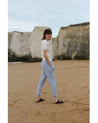 Chalk Pale Tess Jogger Pant - Blue