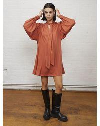 ALIGNE Edie Mini Dress , - Red