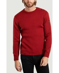 Armor Lux Fouesnant Sweater Piment - Black
