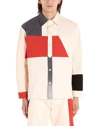 Diesel Red Tag Colour Cotton Shirt - Multicolour