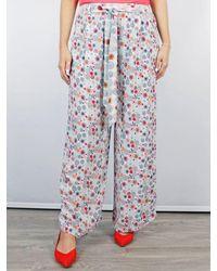 Conditions Apply Suzani Trousers Circular Print - Multicolour