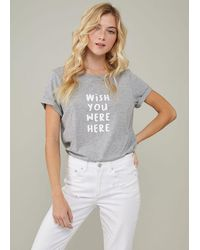 South Parade Lola Wish You Were Here - Heather Grey
