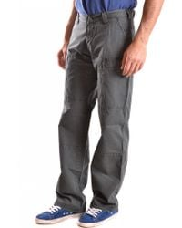 Armani Jeans - Trousers - Lyst