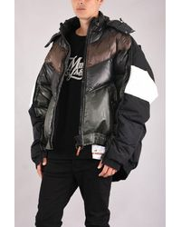 Maison Mihara Yasuhiro Oversized Down Jacket - Black