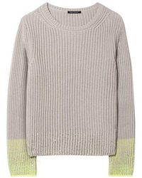 Luisa Cerano Sequin Sweater 128774/5120 - Grey
