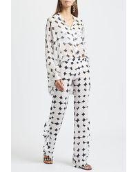 Kalmar Celia And Black Shirt - White