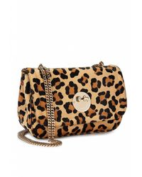Hill & Friends Leopard Happy Cross Body Chain Bag - Multicolor