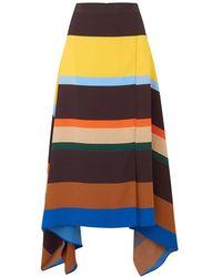 Chinti & Parker Modernity Skirt In Multi - Multicolor