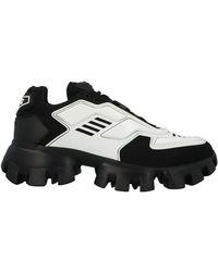 Prada - Men's 2eg2933kzuf0iau White Leather Sneakers - Lyst