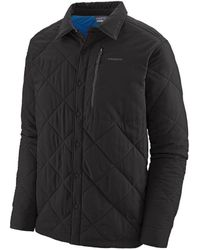 Patagonia Jacket Tough Puff - Black/viking Blue