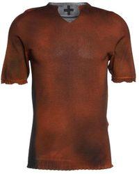 MD75 Knit T-shirt - Brown