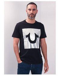 True Religion Foilbox Logo Crew T-shirt Colour: Onyx - Grey