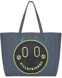 Hill & Friends Slouchy Tote - Blue