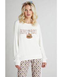 Wildfox Ring For Rose Vanilla Sweatshirt - White