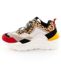 Steve Madden Antonia Shoes Leopard - Brown