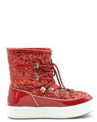 Chiara Ferragni Boots In Red