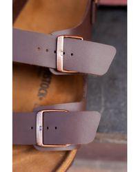 Birkenstock - Milano Dark Brown Sandals - Lyst