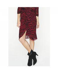 Ba&sh - Scarlett Skirt - Crimson - Lyst