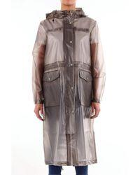 Stutterheim Waterproof With Long Grey Sleeves