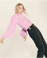 Hayley Menzies Lacey Violet Knit - Multicolour
