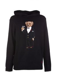 Ralph Lauren Sweater Black Bear