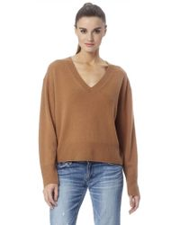 360cashmere Lois Sweater- Vicuna - Brown