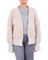 ACTUALEE Knitwear Cardigan Beige - Brown