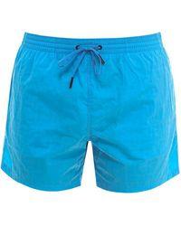 Fendi Nylon Swim Trunks - Blue