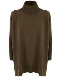 Saverio Palatella Sweaters - Green